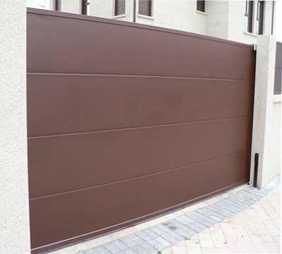 Puerta Corredera Panel ISO 35
