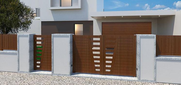 obras de puertas metálicas